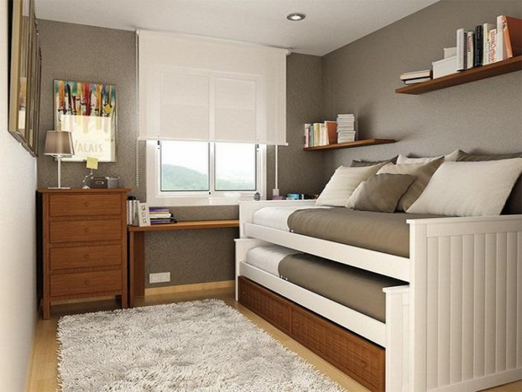 C mo decorar una habitaci n peque a 5 ejemplos cehome for Very small double bedroom ideas