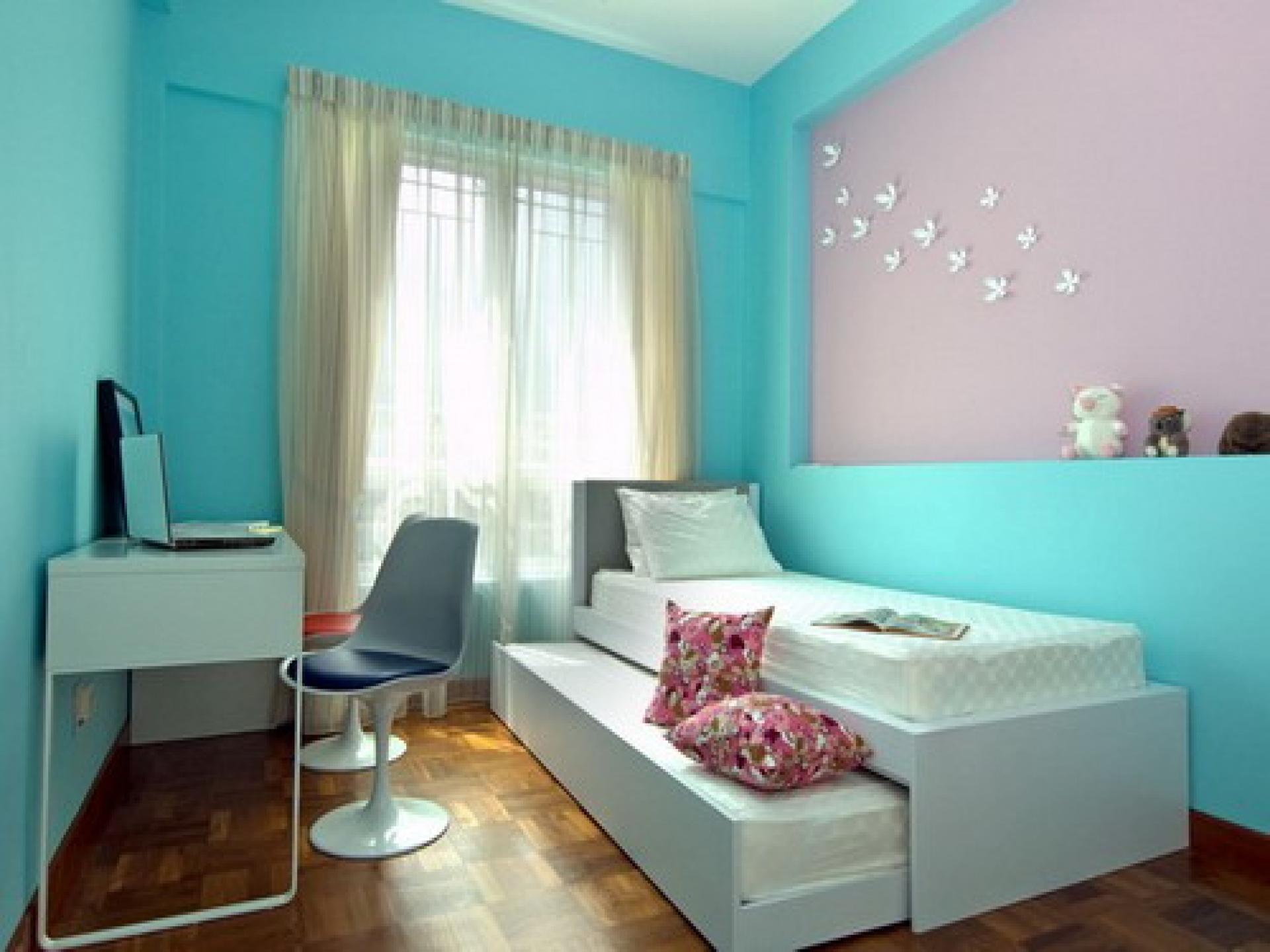 como decorar una habitacion pequeña cama nido