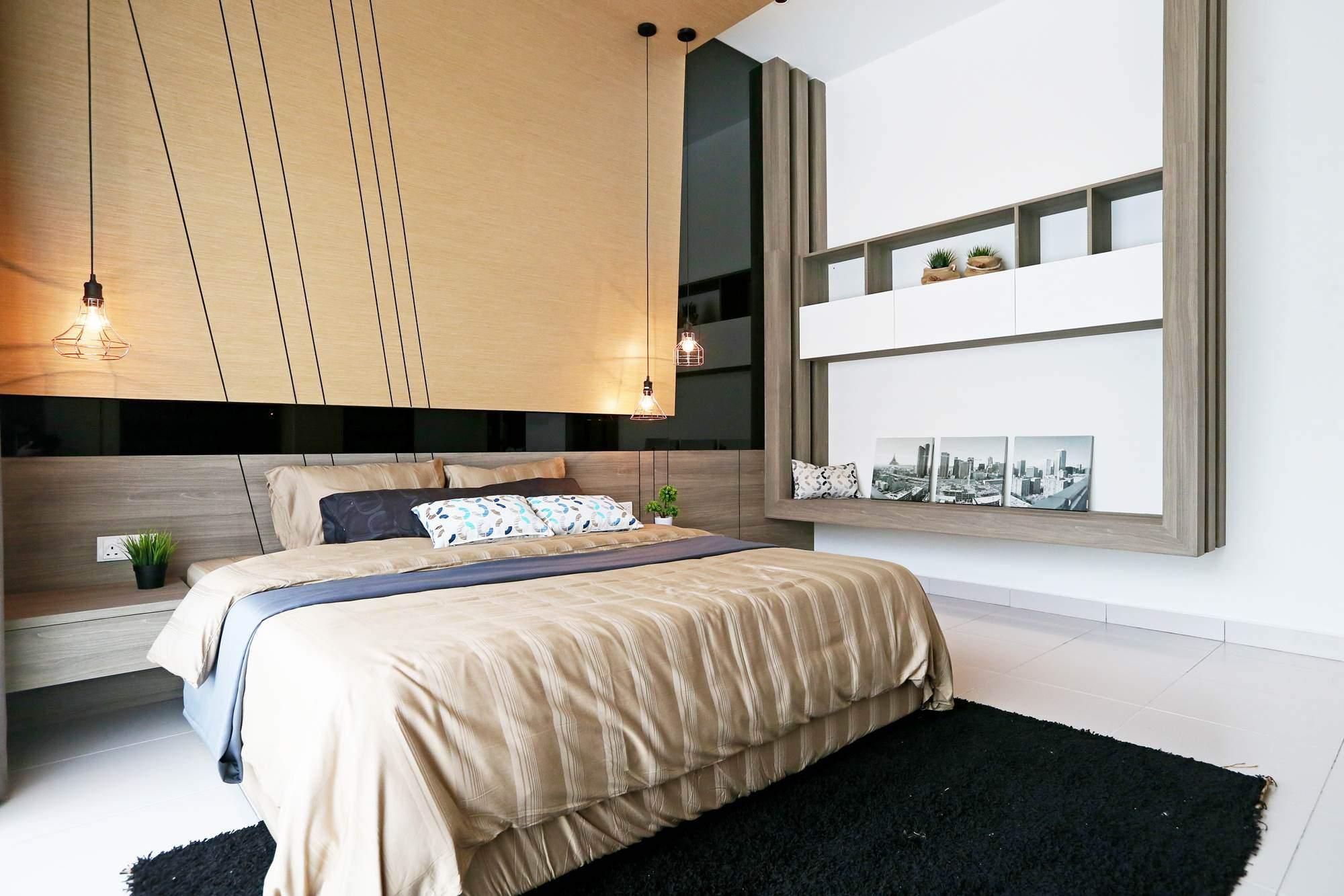 Las claves de las habitaciones de matrimonio modernas for Mobiliario habitacion matrimonio