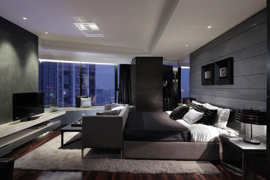 las claves de las habitaciones de matrimonio modernas - Habitacion Matrimonio Moderna