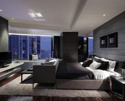 habitaciones de matrimonio modernas