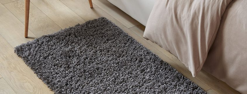 alfombras de pie de cama