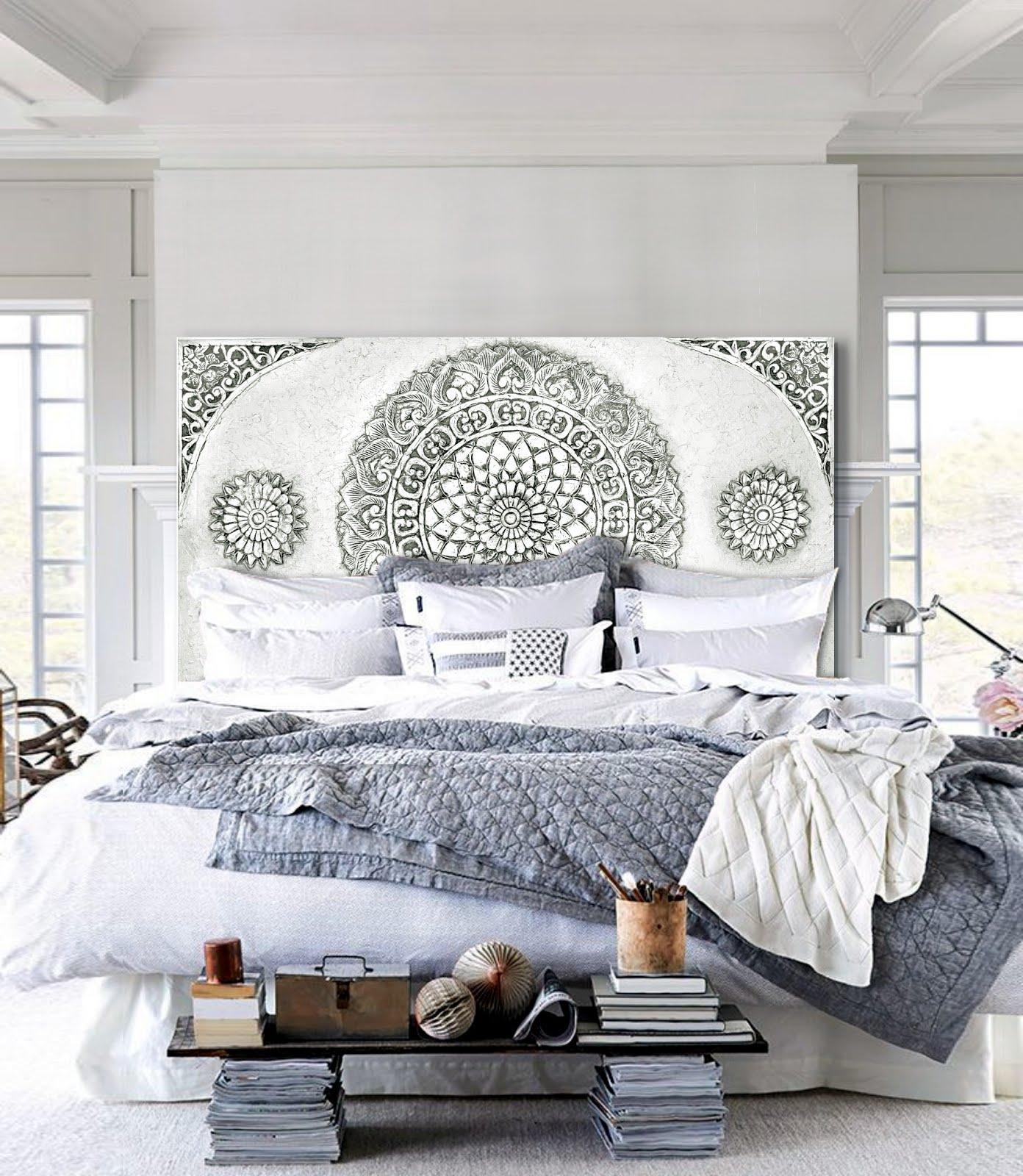 Cuadros para cabeceros de cama cehome - Cuadros cabecero cama ...